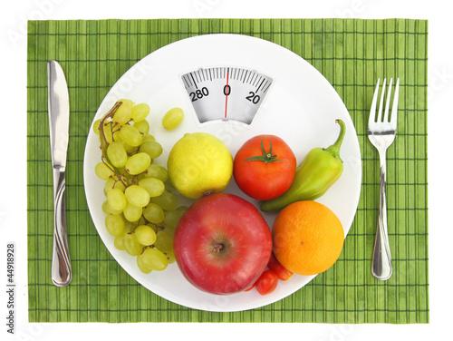 Fotobehang Keuken Diet and nutrition