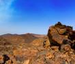 Canary islands in Tenerife Teide National Park