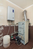 System of heating of a country house
