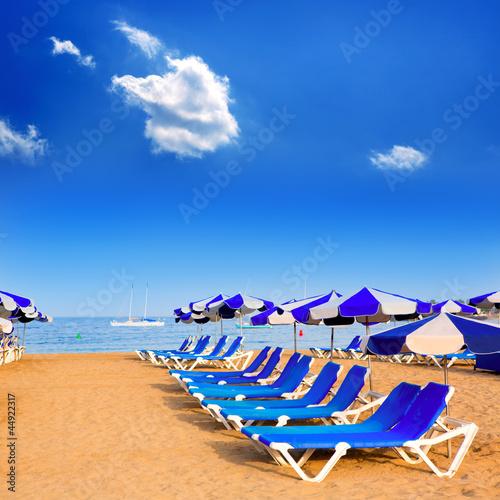 Odsłon plaża w Adeje Arona Tenerife South