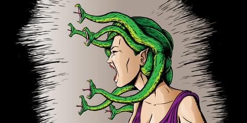 Angry Medusa