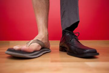 Businessman shoes