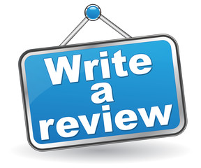 WRITE A REVIEW ICON