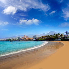 Las Americas Beach Adeje coast Beach in Tenerife