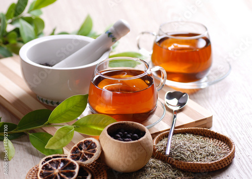 tisane e ingredienti
