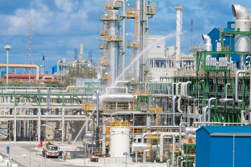 Security testing safety systems in petrochemical plant