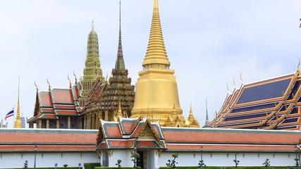 Wat Phra Kaew in Bangkok, Thailand.
