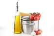spaghetti and olive oil