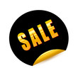 SALE Gold Sticker