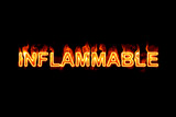 Inflammable (Text serie) poster