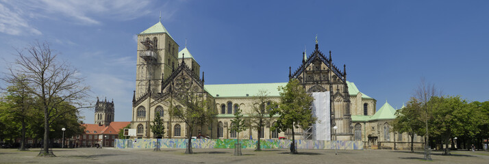 St. Paulus cathedral in Munster, Germany