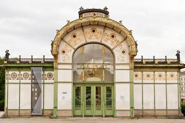 Wien, Karlsplatz-Haltestelle, Jugendstil, Otto Wagner