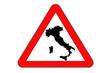 Italy's danger, crisis