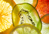 fruit mix (fig, lime, lemon, orange, kiwi)