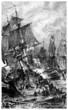 Naval Battle - end 18th century - Le Vengeur