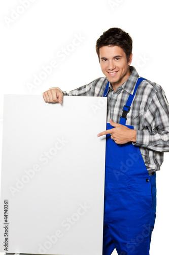 Handwerker - Klemptner - Bauarbeiter