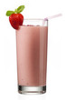 image of strawberry milkshake