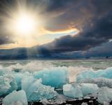 Fototapety ice floe