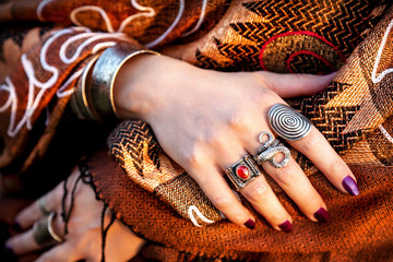 Tribal hands