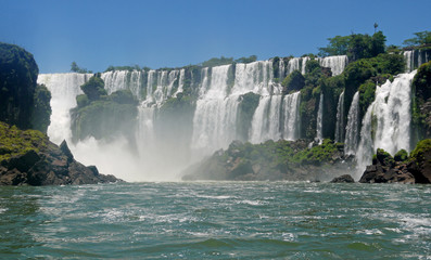 Iguacu Wasserfälle Brasillien