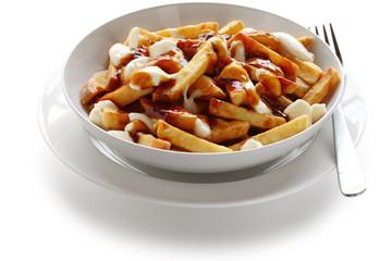 poutine, canadian cuisine