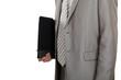Businessman carrying a portfolio