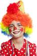 portrait of clown