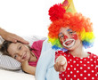 hospital clown gives joy to ill children