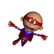 Cartoon Baby Superhero