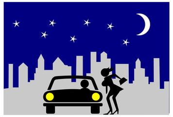 Fenomeno della prostituzione di strada