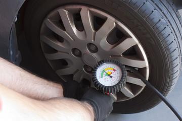 control tires