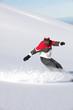 snowboarder sliding a slope