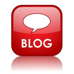 """BLOG"" Web Button (website internet news online forum community)"
