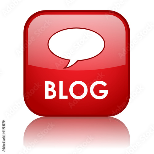 """BLOG"" Web Button (website internet news online forum community)"