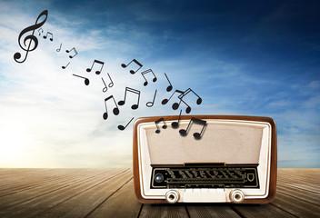 radio vintage old music