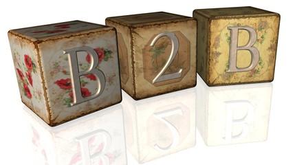 Vintage Wuerfel - B2B I