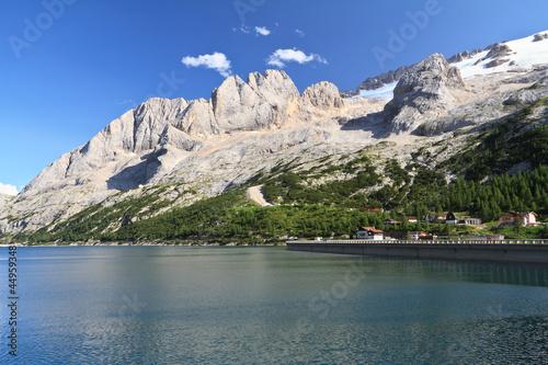 Dolomites - Marmolada and Fedaia Lake