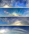 Panorama clouds pack