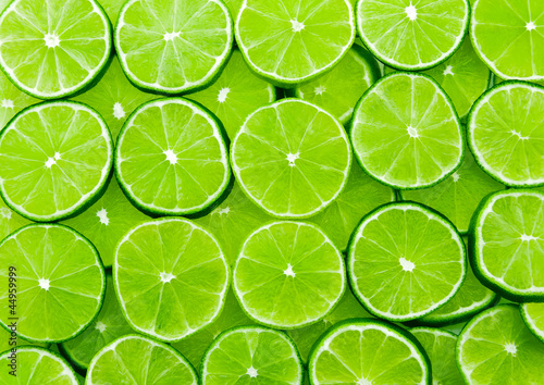 Sticker lime background