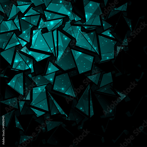 3d abstract dark blue background