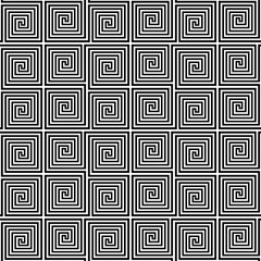 Ancient Greek meander seamless pattern.