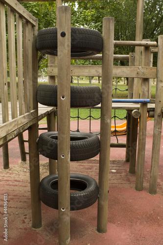 pneus l 39 aire de jeux de lp64 photo libre de droits 44964113 sur. Black Bedroom Furniture Sets. Home Design Ideas