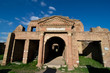 Ancient Roman ruins of Ostia Antica (Rome,Italy)