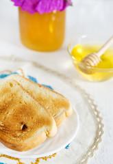 Toast and honey