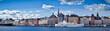 Beautiful panorama view of Gamla Stan, Stockholm, Sweden