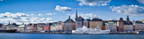 Beautiful panorama view of Gamla Stan, Stockholm, Sweden - Fine Art prints
