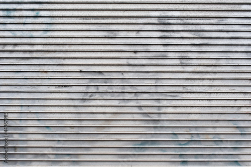 Metal shutters abstract background