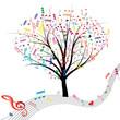 Music tree.
