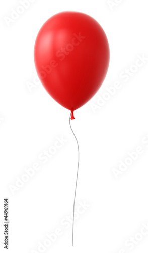3d red balloon © martanfoto