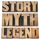 story, myth, legend poster